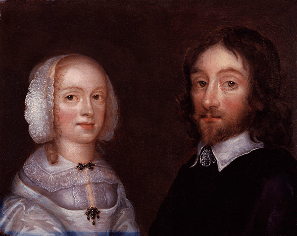 Sir Thomas Browne with his wife Lady Dorothy Browne